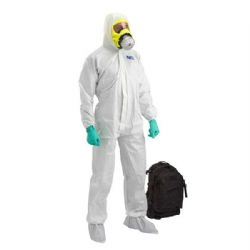 Chemical HAZMAT Suit Kit - White Coverall, Urban Escape